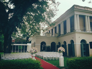 garden wedding penang