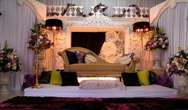 wedding pelamin grand