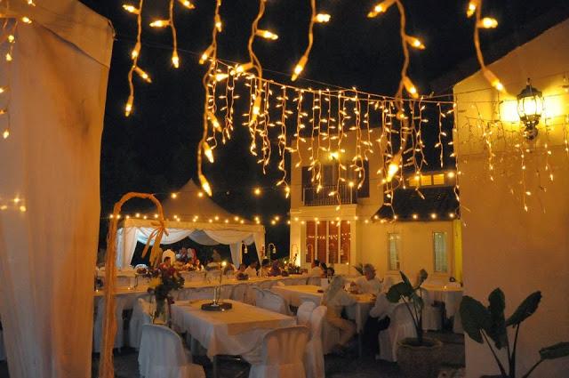 lampu cantik malam majlis