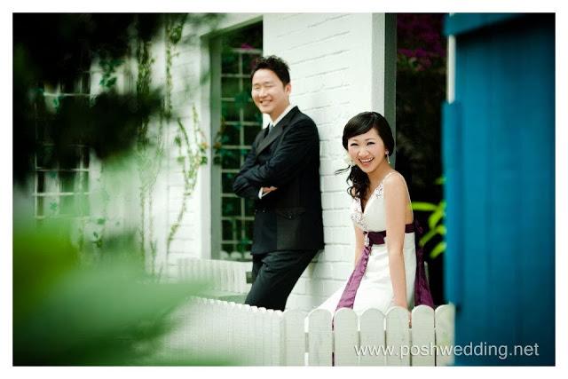picket white fence romantic english style