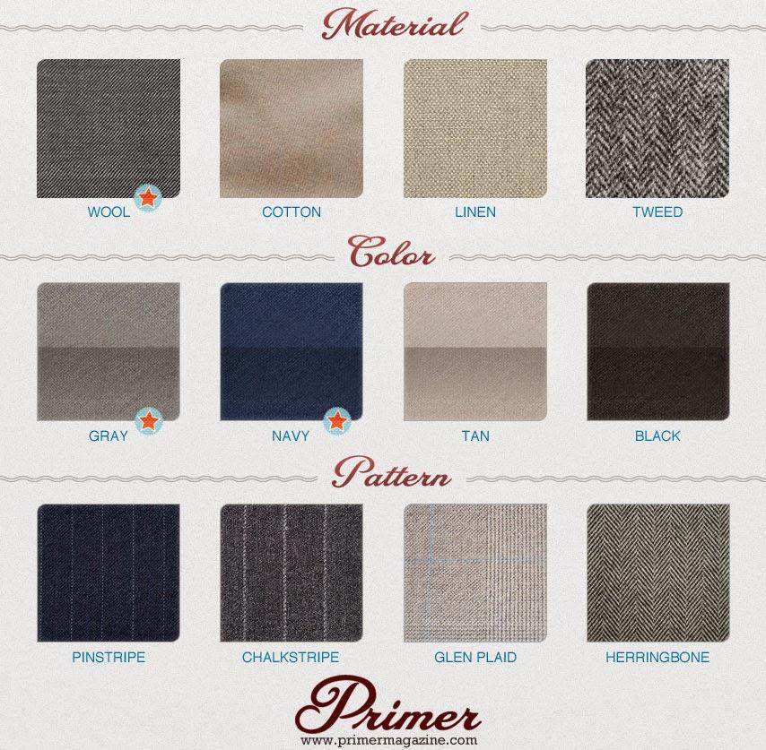 tweed color cofort crease