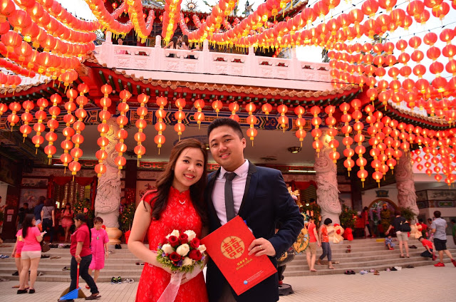 marriage lanterns KL