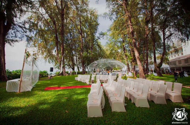 lone pine alex photography wedding malaysia beach garden wedding penang