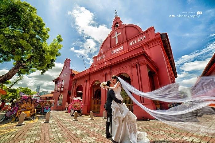 carrying bride christ church
