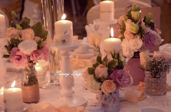 fresh flowers in vases