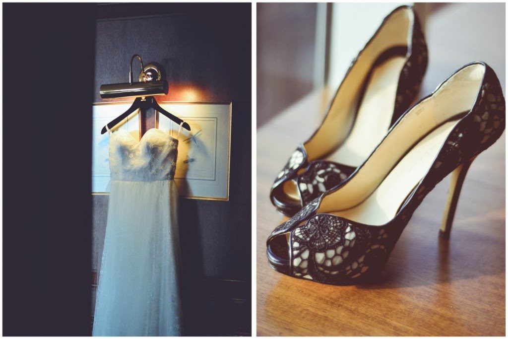 black background black shoes