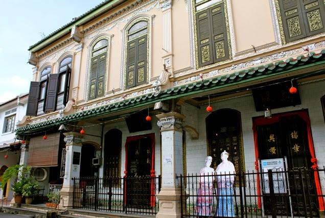 peranakan house Melaka