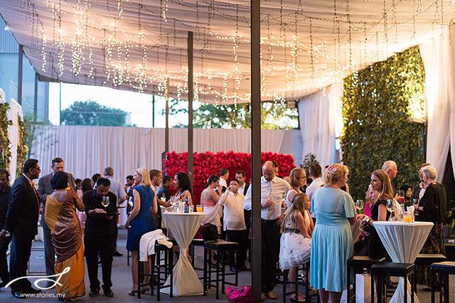outdoor cocktail wedding kl