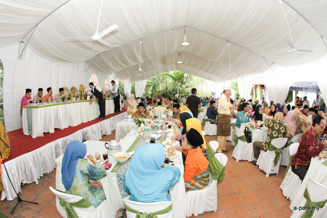 tent wedding klang valley