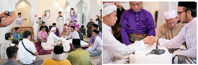 akad nikah in Ampang