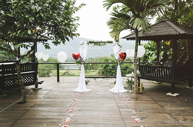 rainforest reserve wedding venue malaysia
