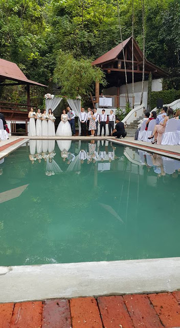 pool side wedding kl tamrind springs