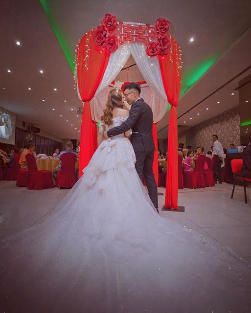 dynasty dragon atria damansara jaya wedding tent