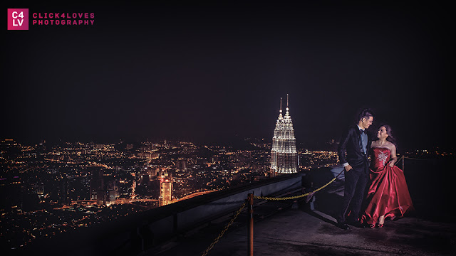 KL Tower Pre-wedding Photography