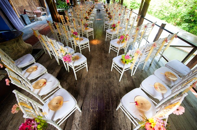 wooden deck roof wedding rom ceremony Tamarind Springs KL