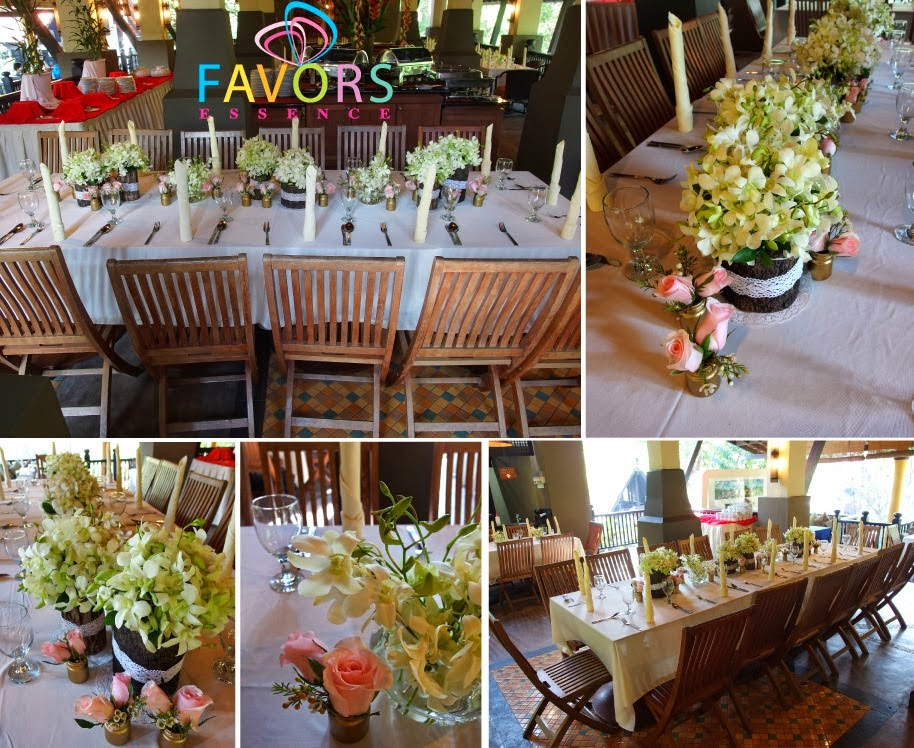 floral decor with candles Selangor