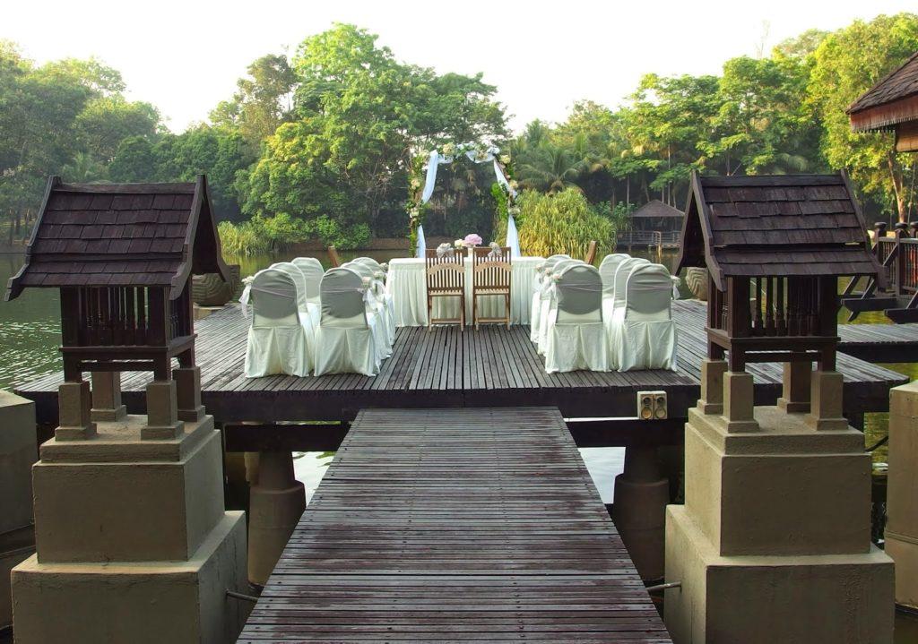 feel of kampung wedding