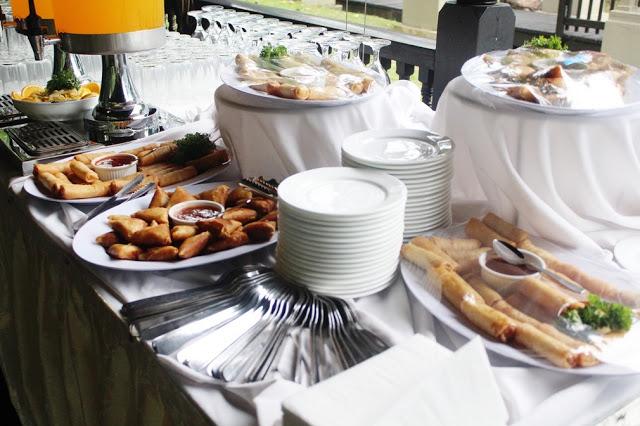 outdoor wedding buffet Malaysia