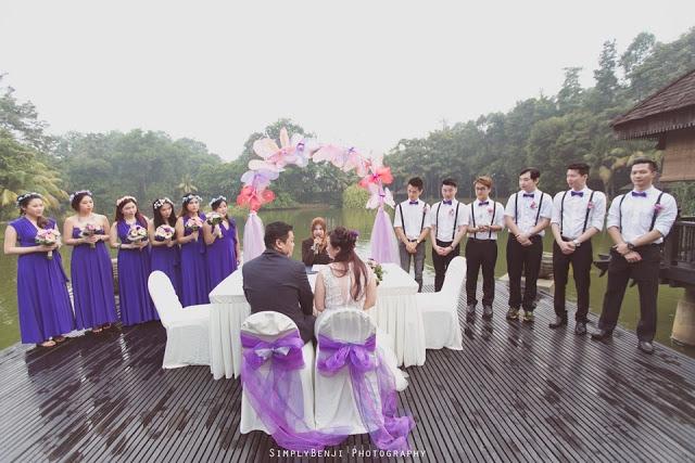ROM garden wedding Malaysia