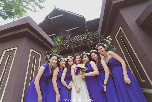 Malays house wedding photography
