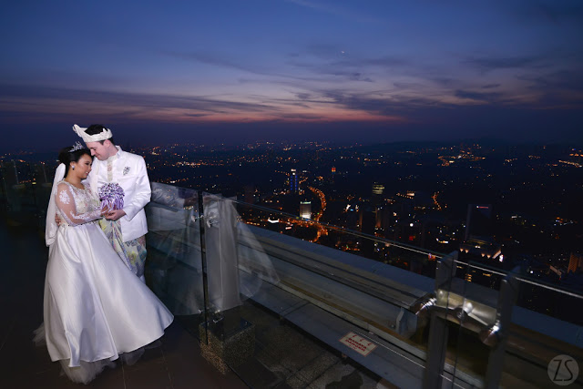 Pre-wedding Photo shoot KL Tower