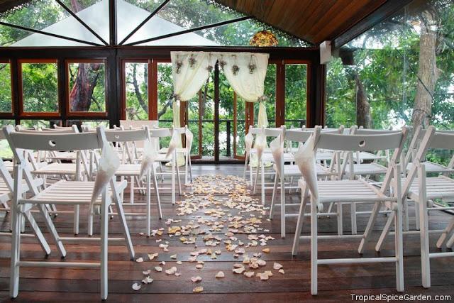 The pavilion garden wedding tropical spice penang