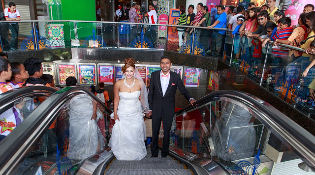 KL Tower wedding ceremony