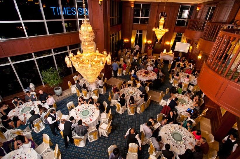 grand chandelier english wedding malaysia