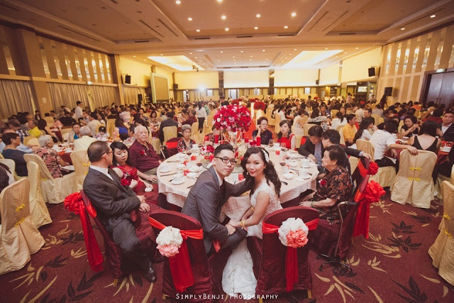 The Club bukit utama wedding