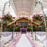 Royale chulan klcc wedding indoor garden roof transparent