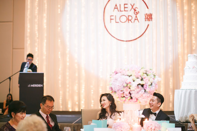 Le meridien KL wedding stage