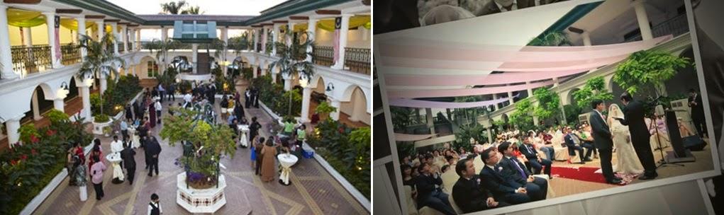 spanish courtyard wedding malaysia