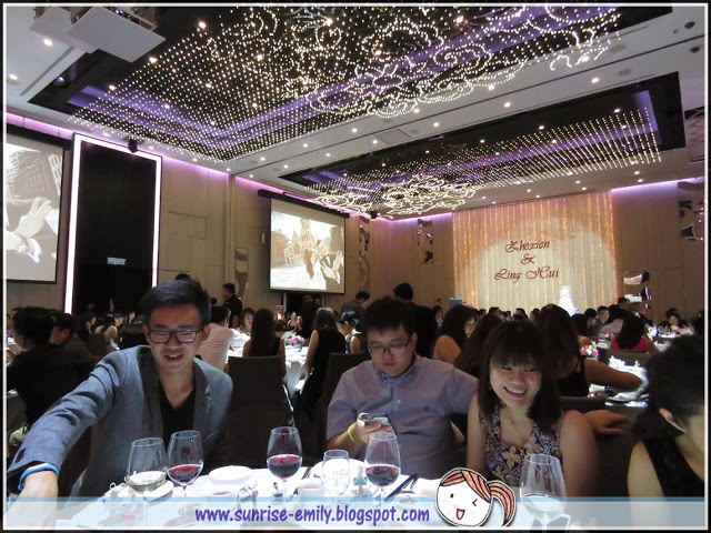 LED 3D ceiling lights wedding venue in Malaysia