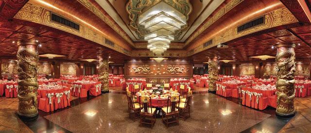 opulent chinese banquet