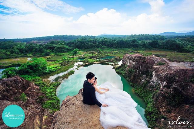 jiuzhaigou of malaysia wedding photography