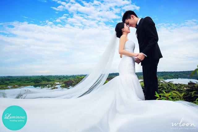 mine holes wedding photoshoot Malaysia