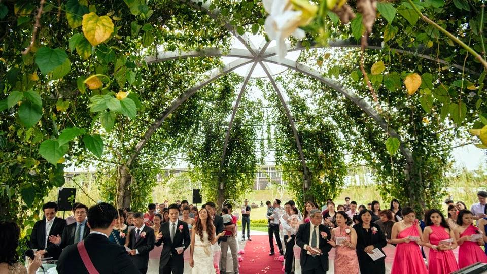 Setia city convention centre garden wedding