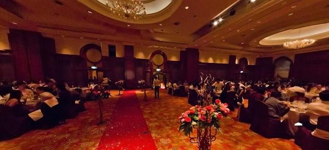 dark wood wedding hall Malaysia ballroom palace of the golden horses