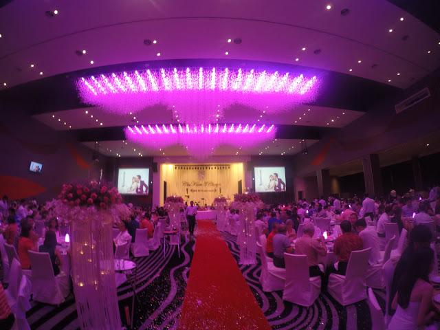 pink ballroom
