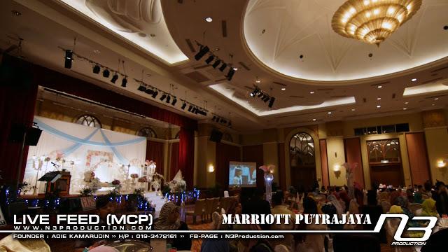 ballroom malay wedding marriot putrajaya