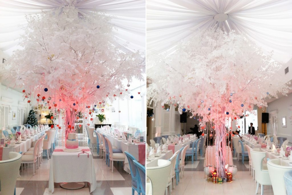 macalister mansion penang multicolor tree wedding