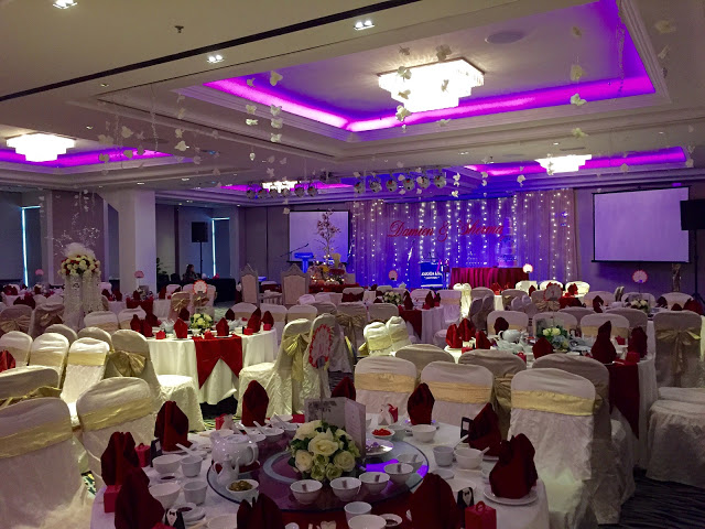 armada hotel pj wedding