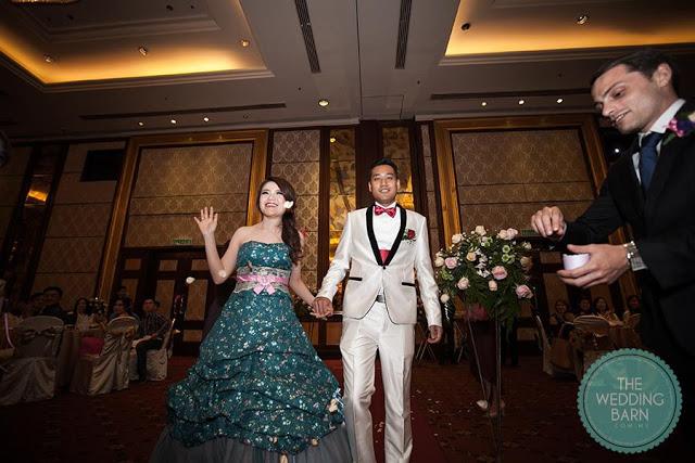 subang wedding banquet chinese walk in