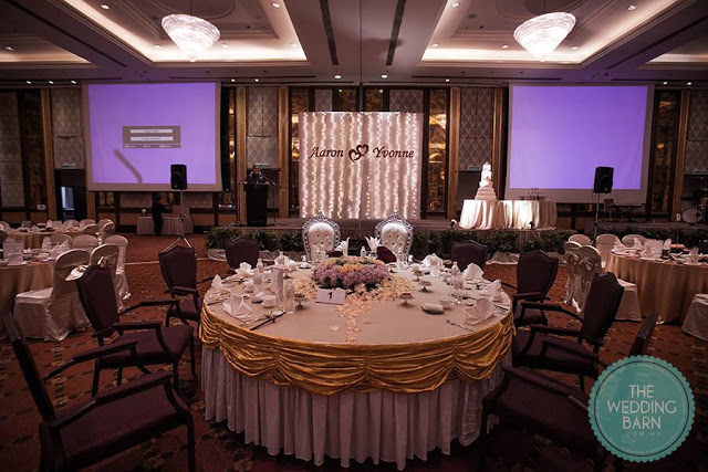wedding vip table banquet feast celebration malaysia
