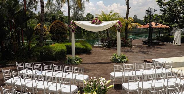 Holiday Villa Subang garden wedding