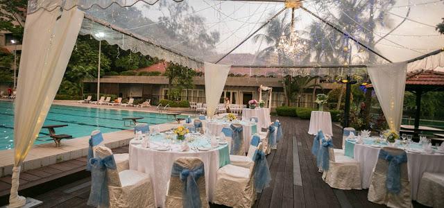poolside wedding subang