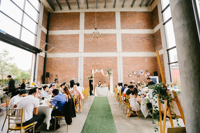 rustic industrial wedding venue