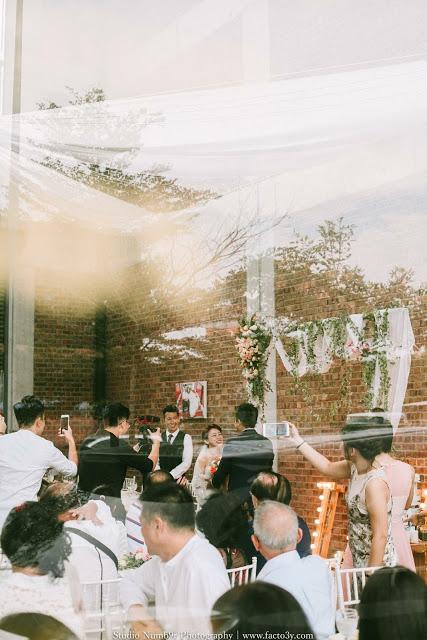 glass facade wedding venue Klang valley