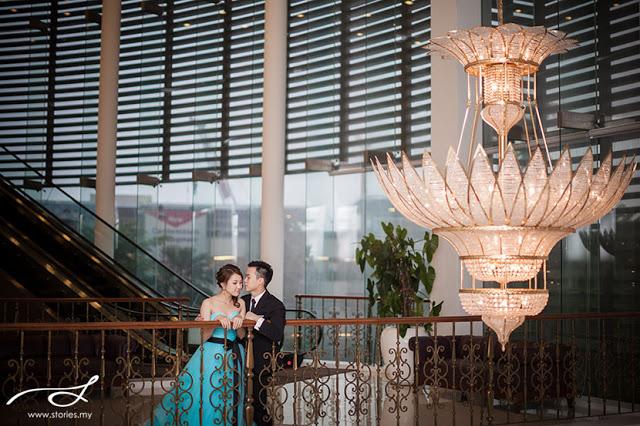 flower chandelier wedding photography mutiara damansara