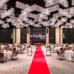 e.city hotel wedding ballroom crystal